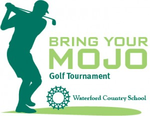 bring your mojo golf tournament to support waterford country school