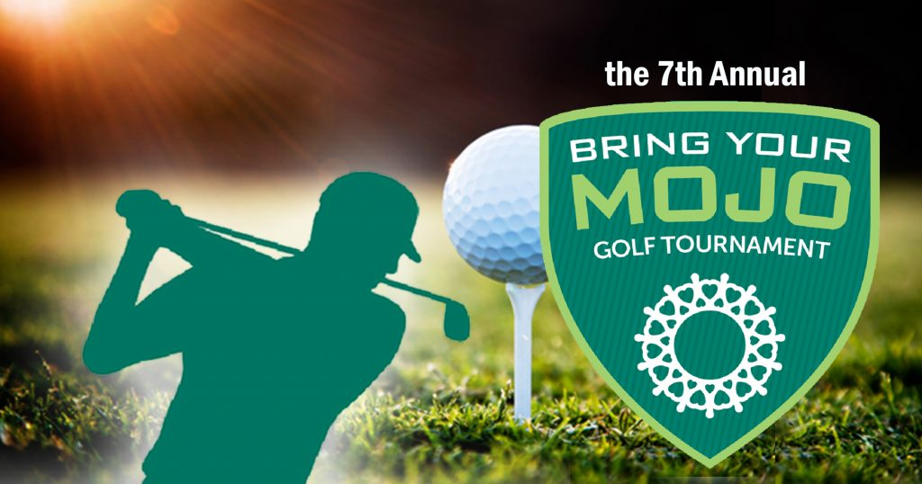 7th annual bring your mojo golf tournament in memory of gary saunders to be held at great neck country club in waterford all proceeds to benefit waterford country school