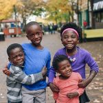 african american sibling group of four adoption story siblings reunited and adopted into one family