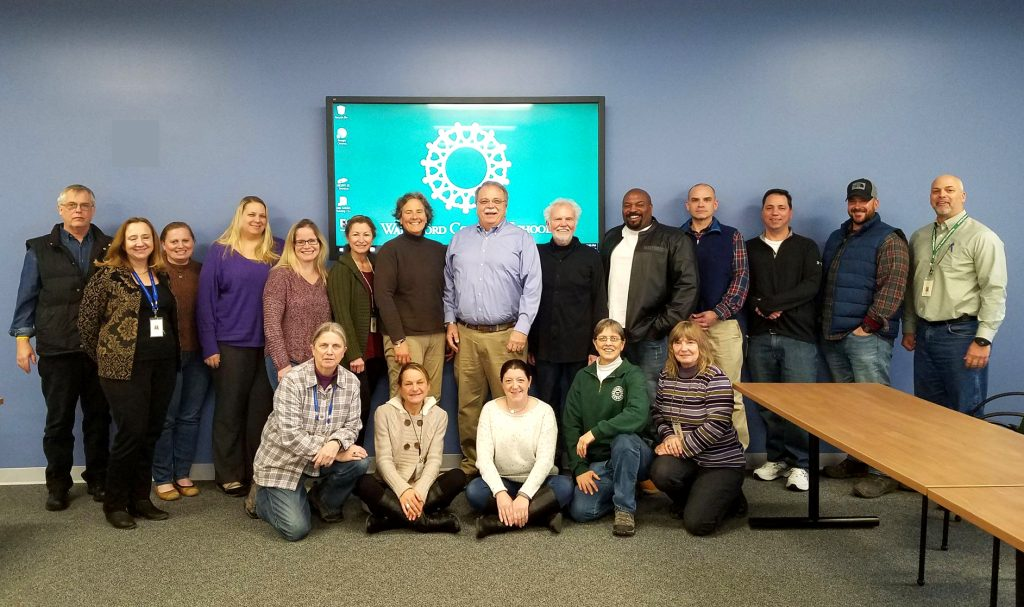 Cornell University and Waterford Country School Leadership meeting group